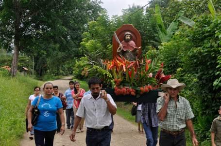 New Santo en la iglesia de San Buenaventura